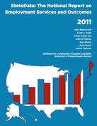 ICI's National Report on Employment Services and Outcomes 2011, cover
