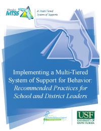 Implementing MTSS for Behavior, cover image