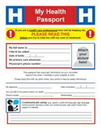 'My Health Passport' cover image